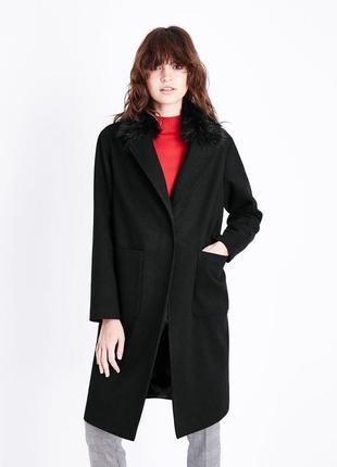 New look великолепное демисезонное пальто, р.10-38