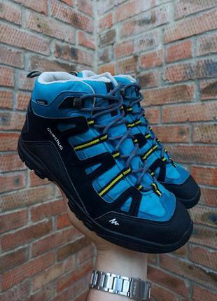 Ботинки осенние quechua sh arp 100 mid размер 38 (24,5 см.)