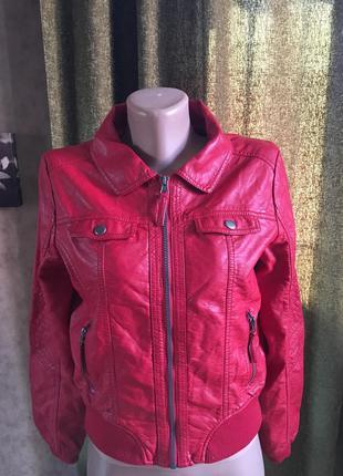Куртка h&m красная