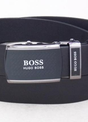 Ремень автомат мужской кожаный hugo boss
