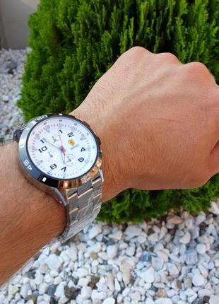 Годинник феррарі із металевим браслетом