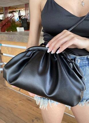 #bag cloud тренд сезона /сумка bottega /черная сумка пельмень