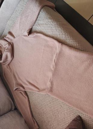 Теплое платье vovk осень-зима