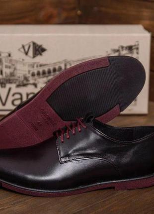 Мужские туфли из натуральной кожи van kristi(40-45р)