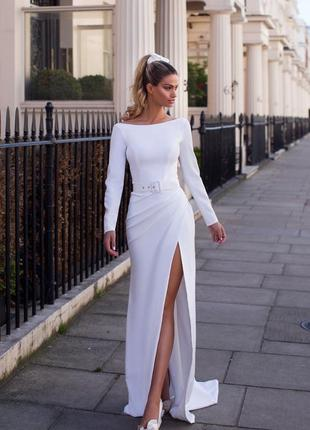 Свадебное платье millanova eveline2 фото