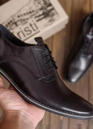 Кожаные туфли van kristi