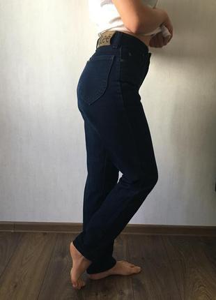 Темно сині джинси lee