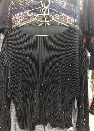 Нарядная блуза кофта жатка