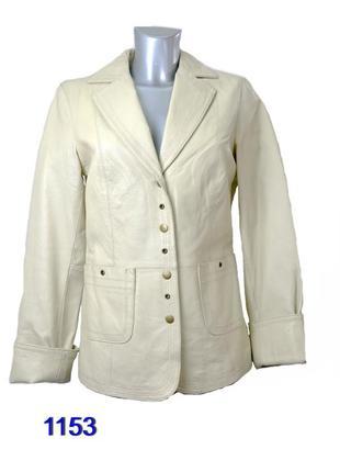 Yuppie куртка женская кожаная