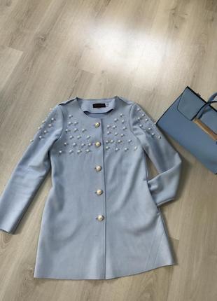 Кардиган куртка накидка ветровка пиджак с бусинами