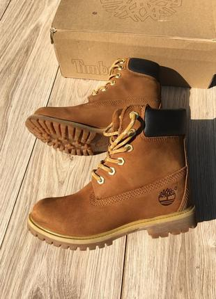 Стильные актуальные ботинки timberland оригинальные waterproof 6 inch pro