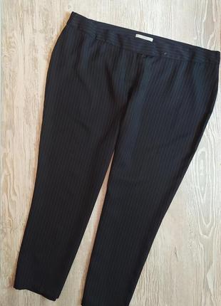 Зауженные брюки в тонкую полоску george размер 24