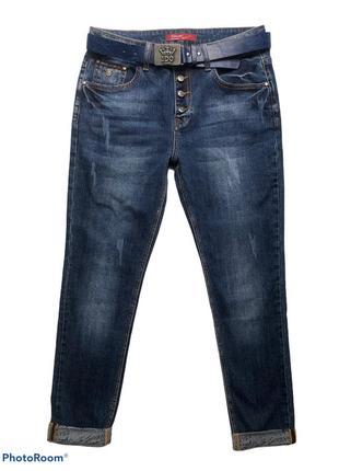 Женские джинсы на болтах
