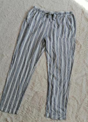 Лляные брюки