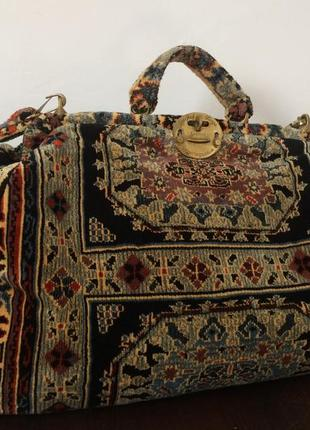 Нереально крутая эксклюзивная  огромная дорожная сумка саквояж