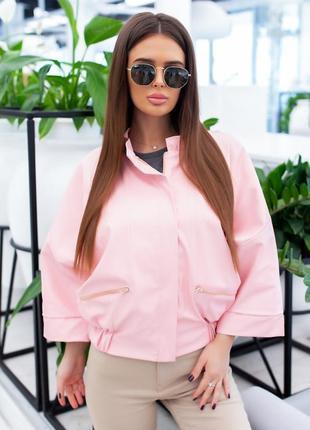 Куртка женская из экокожи