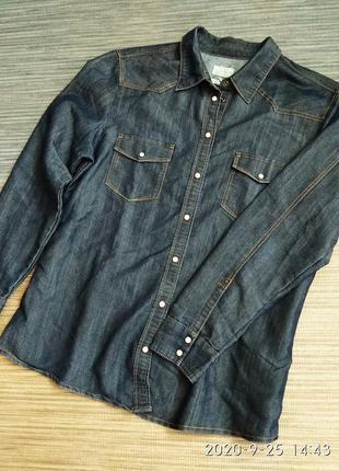 Рубашка 😍 джинсовая