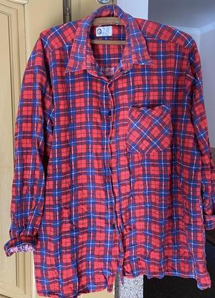 Сорочка оверсайз рубашка