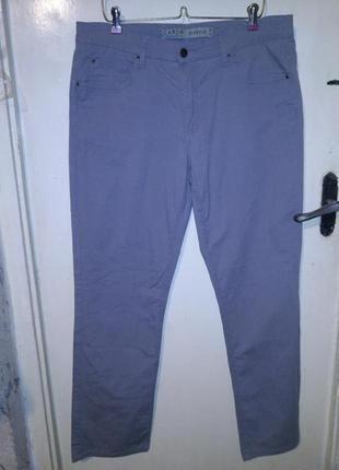 Стрейч-хлопок,серые,зауженные брюки-джинсы,большого размера,на высокую,canda,германия