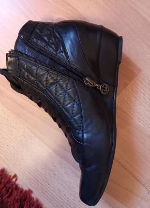 Германия,роскошные,красивые,кожаные ботинки,ботиночки,ботильоны,ботильены,под chanel