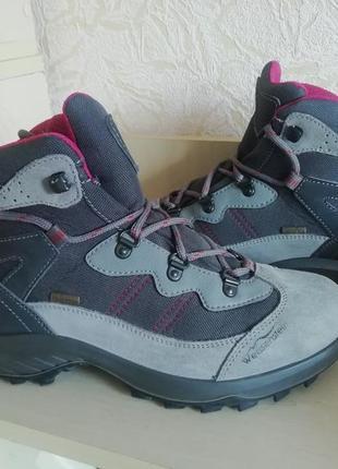 Замшевые термо ботиночки weissenstein, мембрана waterproof