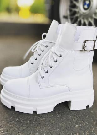 Самые популярные кожаные ботинки 2020