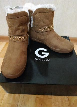 Зимние сапоги g by guess размер 6.5