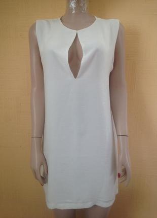 #короткое белое платье#свадебное платье#коктейльное платье#свободное платье#прямое###