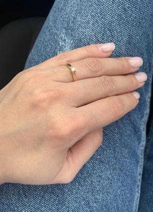 Золотое кольцо/бриллиант