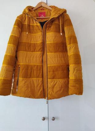 Горчичная куртка размер 40-42 евро/наш 48