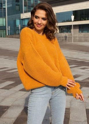 Хит сезона вязаный свитер