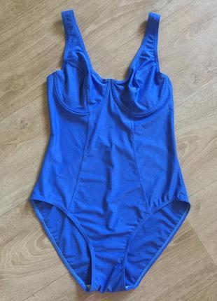 Новый синий купальник s-m