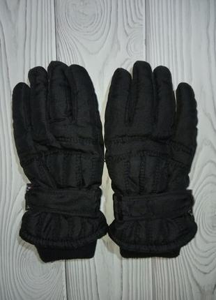 Черные краги перчатки