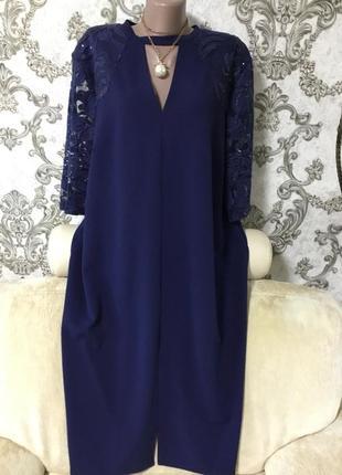 Шикарное платье размер 60 62