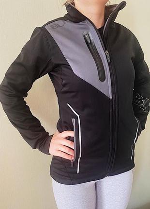 Спортивная куртка blk carbon pro 5 черная женская