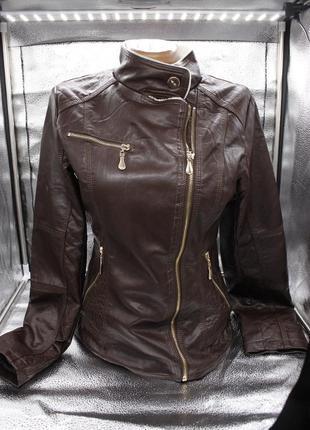 Осенняя куртка с мехом, косуха