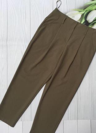 Стильные брюки с высокой посадкой new look