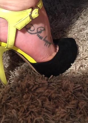 Туфли замш 36 размер 23,5 см
