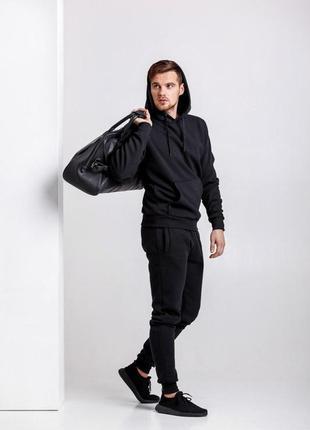 Зимний мужской спортивный костюм adidas
