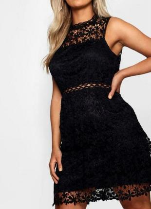 Сексуальное платье кружево кроше 20/54-56 размера