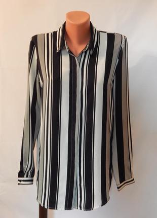 Стильная рубашка-блуза от ann christine (размер 38)
