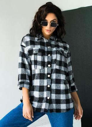 Стильная рубашка с красивыми карманами ♡