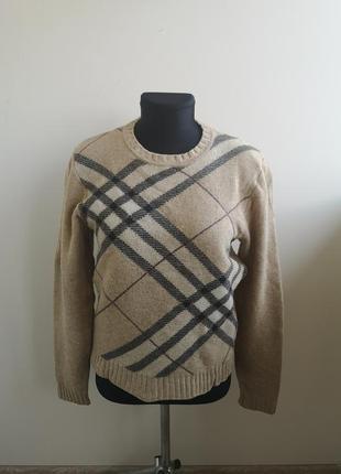 Шерстяной свитер burberry