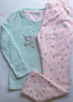 Пижама из пушистого флиса велсофт love to lounge primark