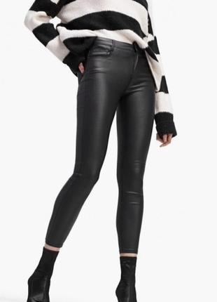 Шикарные кожаные штаны