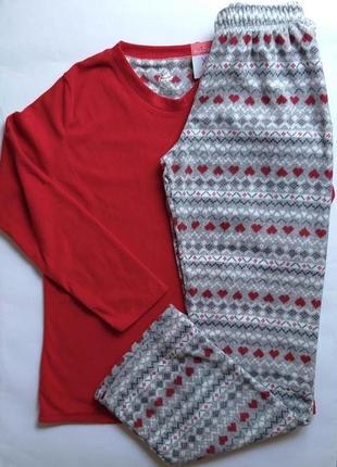 Флисовая пижама love to lounge primark