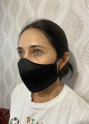 Защитная маска поштучно в 4 цветах2 фото