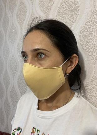 Защитная маска поштучно в 4 цветах