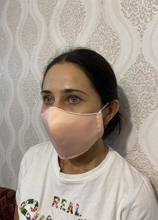 Защитная маска поштучно в 4 цветах3 фото