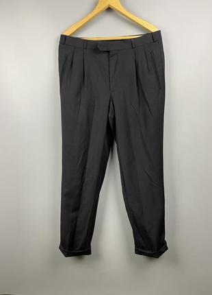 Yves saint laurent классические мужские брюки prada louis vuitton hugo boss paul shark